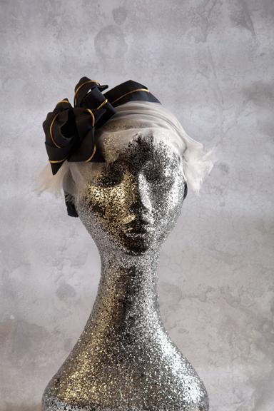 Bearded Iris; Hat; Millinery; Nicholas Wilsden; Michelle Dunn Photography